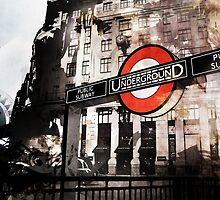 The London Underground 01 by Jonathan Lam