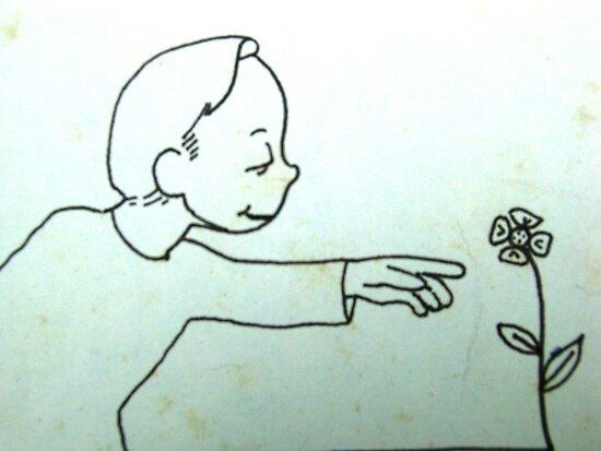 Innocence kills the flower by John Henry Martin