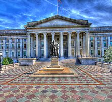 The Treasury Department - Washington DC by Edvin  Milkunic