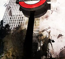 The London Underground 02 by Jonathan Lam