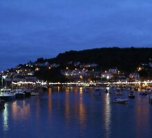 Looe Harbour by Mike Streeter