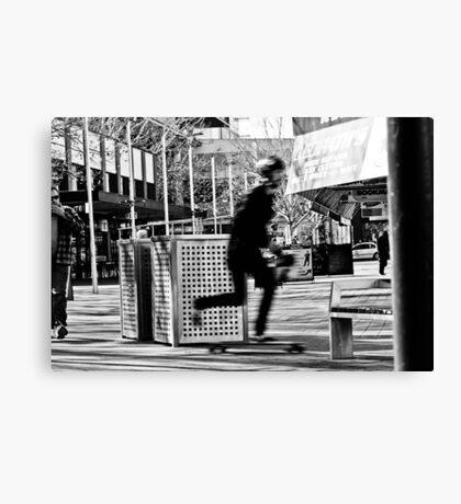 Kick Push Canvas Print