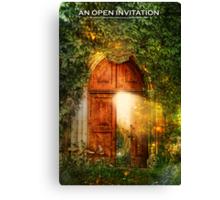 An Open Invitation Canvas Print