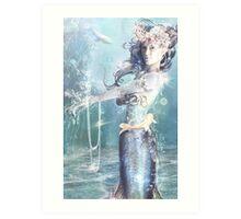 Blue Pearl Art Print