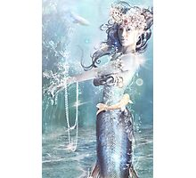 Blue Pearl Photographic Print