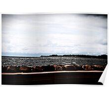 Shoreline, the Sea. Poster