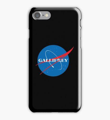 Gallifrey (Blue) iPhone Case/Skin