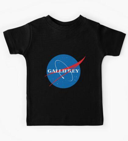 Gallifrey (Blue) Kids Tee