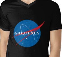 Gallifrey (Blue) Mens V-Neck T-Shirt