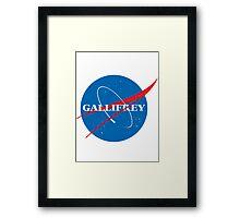 Gallifrey (Blue) Framed Print