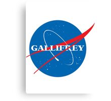 Gallifrey (Blue) Canvas Print