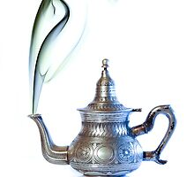 Moroccan Tea Pot  by Sabine Jacobs