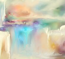 Smoky Falls by Anivad - Davina Nicholas