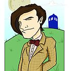 Dr Who - Matt Smith by Chris McQuinlan
