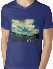 From out the Sunroof (challenge) Mens V-Neck T-Shirt