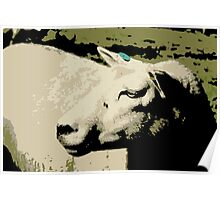 Sheep - Posterized Poster