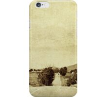 We're on the road to nowhere iPhone Case/Skin