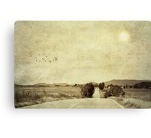 We're on the road to nowhere Canvas Print