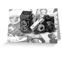 photographers memories Greeting Card