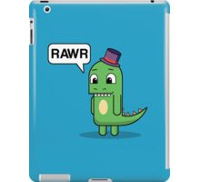 Top Hat Dino iPad Case/Skin