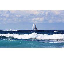 sails at kingscliff ... Photographic Print