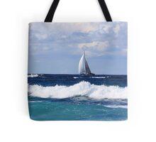 sails at kingscliff ... Tote Bag