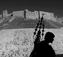 Juice Seller Aleppo by John Wreford