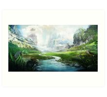 The Mystical River Art Print