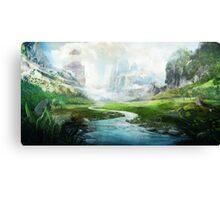 The Mystical River Canvas Print