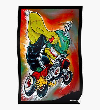 Monster Rod Poster