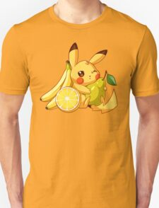 Pikachu & Fruits T-Shirt