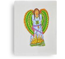 Angel/7 - Long Braids Canvas Print