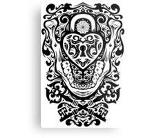 The Key to my Teeth Metal Print