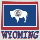 Wyoming State Flag by peteroxcliffe