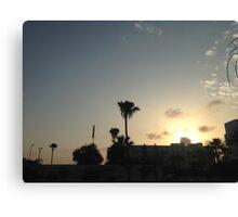 Ayia Napa Sunset Canvas Print