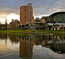 A wet day in Adelaide by Ali Brown