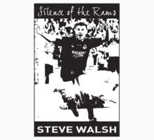 Silence of the Rams - Steve Walsh - Leicester City Kids Tee