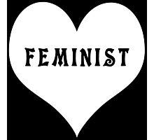 Feminist Heart Photographic Print