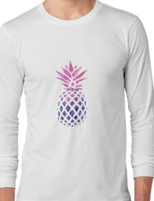 Pinapple Gradient Long Sleeve T-Shirt