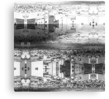 P1430781 _Luminance _Rasterbator _XnView _GIMP Canvas Print