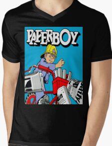 paperboy Mens V-Neck T-Shirt