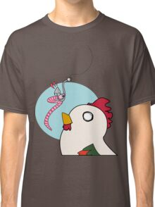 Chicken and the Worm Classic T-Shirt