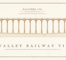 Ouse Valley Railway Viaduct by Old-Lundenwic