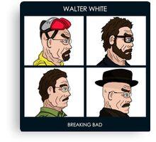 Walter White - Breaking Bad Canvas Print