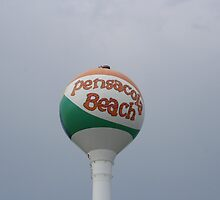 Pensacola Beach Water Tower by William Bectel
