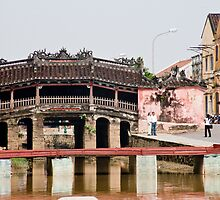 Hoi An Covered Bridge by phil decocco