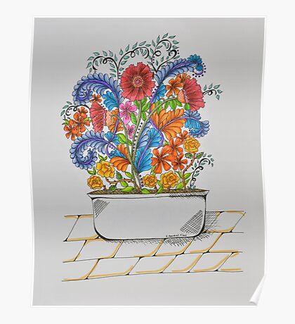 Flowers/25 - Tub/1 Poster