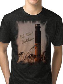 Oak Island Lighthouse T-Shirt Tri-blend T-Shirt