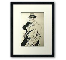 The Mister Man Framed Print