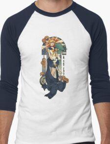 Clear Sky Men's Baseball ¾ T-Shirt